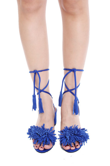 STUARTZ NELLIE SANDALS (ELECTRIC BLUE) image