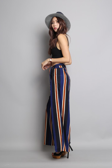AYANA STRIPED PANTS image