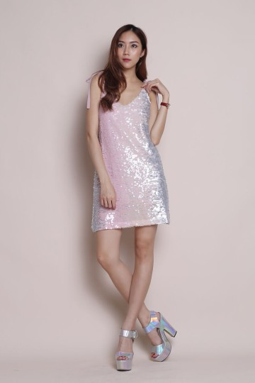 EVENING STAR SEQUIN DRESS (MILKY WAY) (PREMIUM) image