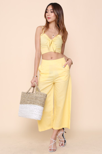 SEMINYAK 2-PIECE SET (LEMON YELLOW) image