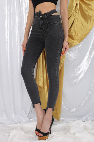 KRIVER WASHED OUT DENIM JEANS (BACKORDER) image