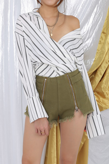 X2 ZIP UP SHORTS image